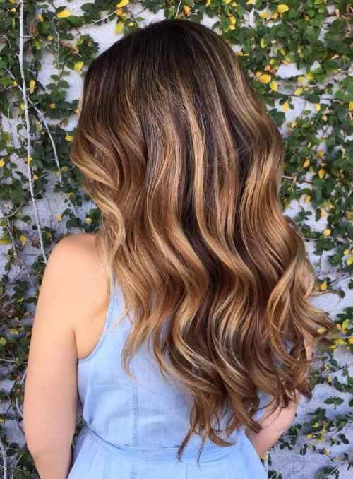 9-caramel-balayage-for-dark-brown-hair